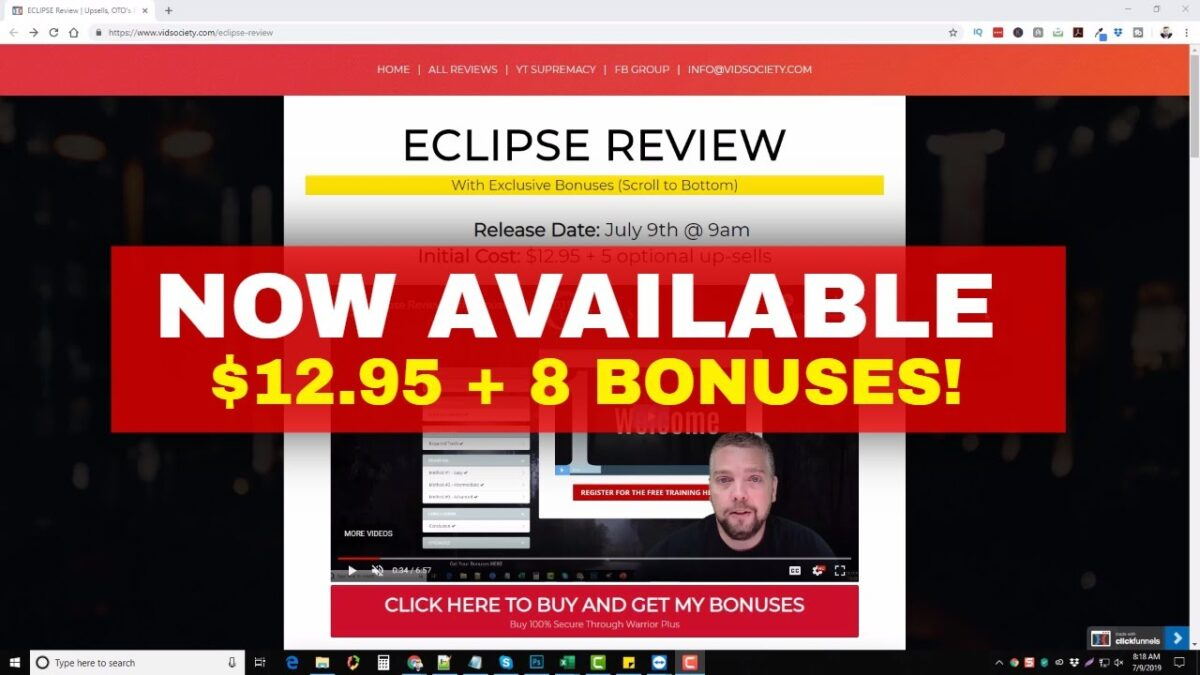 Eclipse is LIVE: 🅿🅸🅲🅺 🅸🆃 🆄🅿 🅽🅾🆆