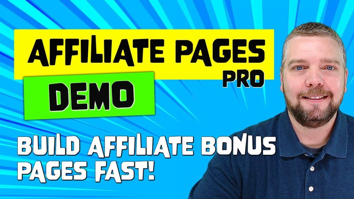 Affiliate Pages Pro Review and Full Demo