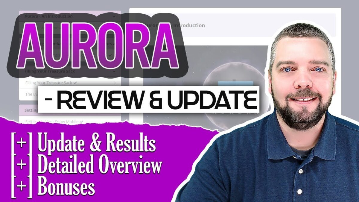 Aurora Review / Update With Results and Bonuses