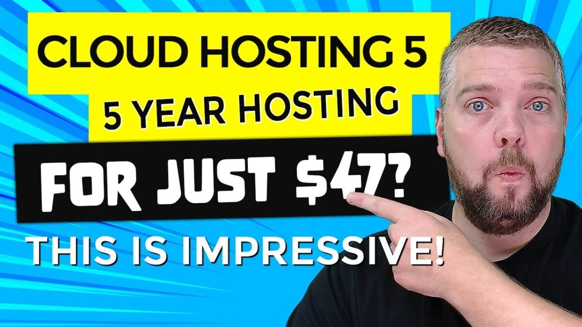 Cheap WordPress Hosting For 5 Years - cPanel, SSL and More