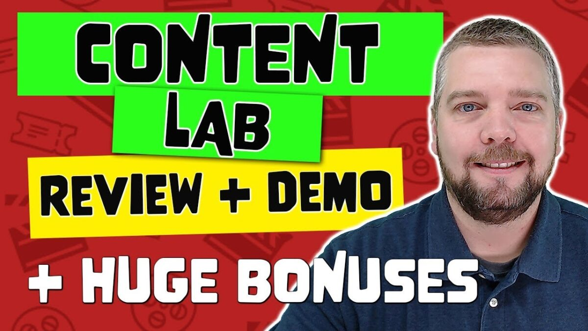 Content LAB Review With Demo and Bonuses