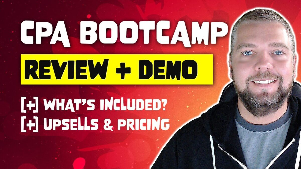 CPA Bootcamp Review: CPA Affiliate Marketing, Training & Coaching