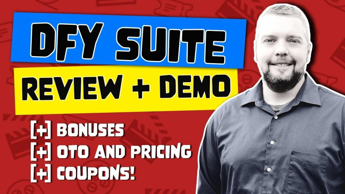 DFY Suite Review + Demo With Bonuses