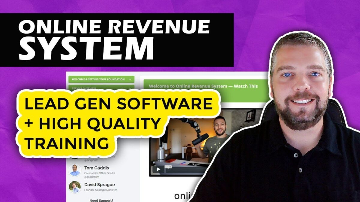 Online Revenue System Review: Earn With Local Clients Using Online Revenue System