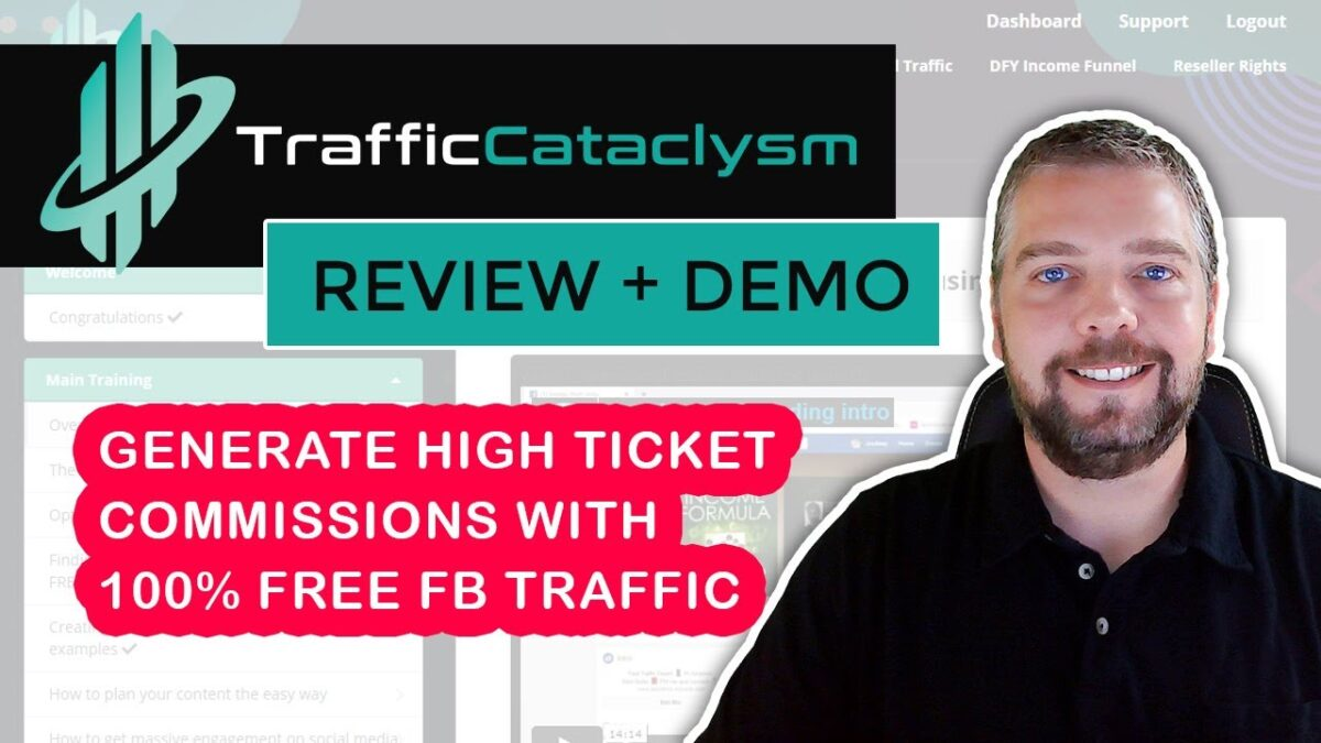 Traffic Cataclysm Review & Demo: FB Algorithm Revealed With Traffic Cataclysm