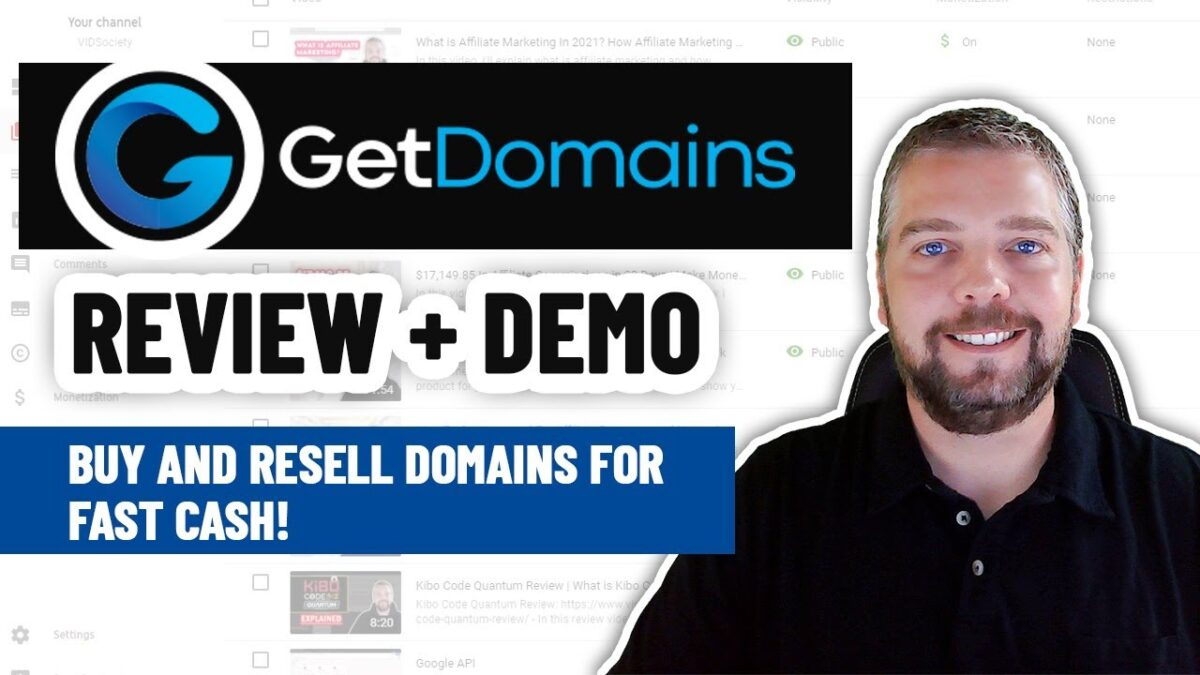 Get Domains Review   How To Buy & Resell or Flip Domains