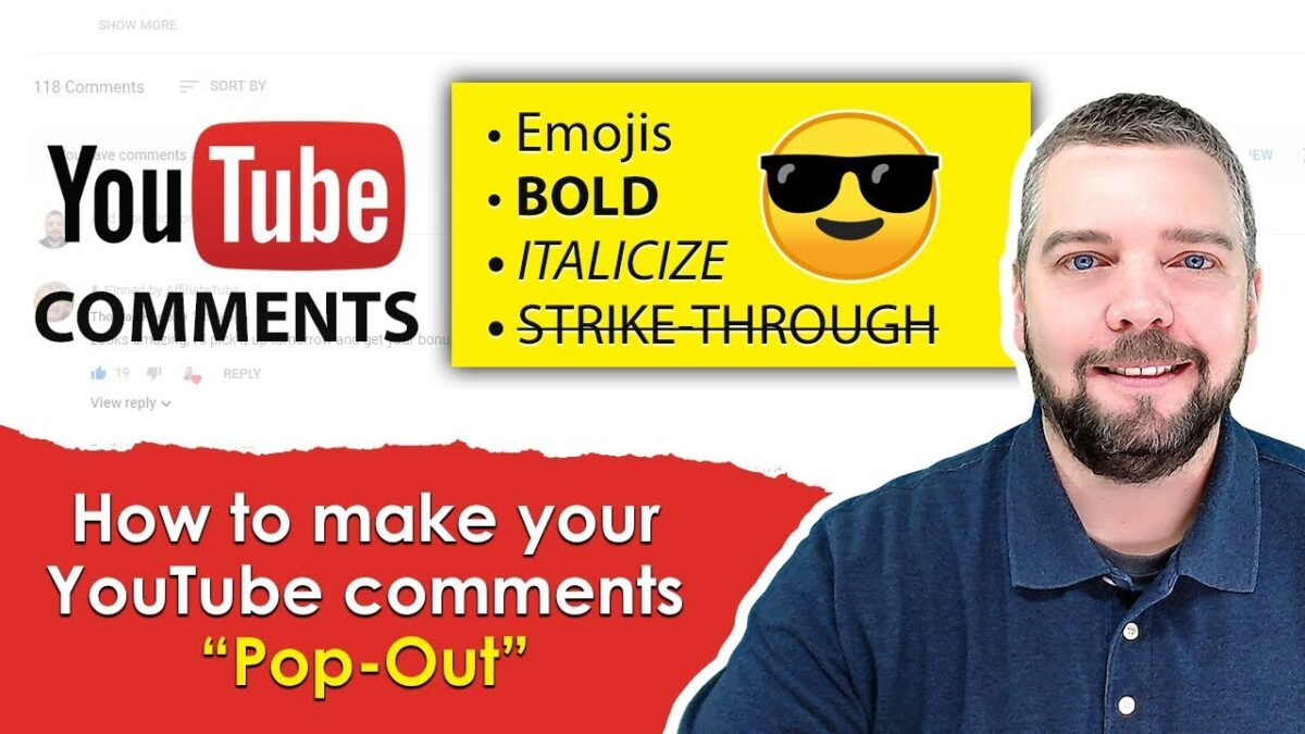 How To Bold, Italicize, Emoji & Strike-Through YouTube Comments [4 Tips]