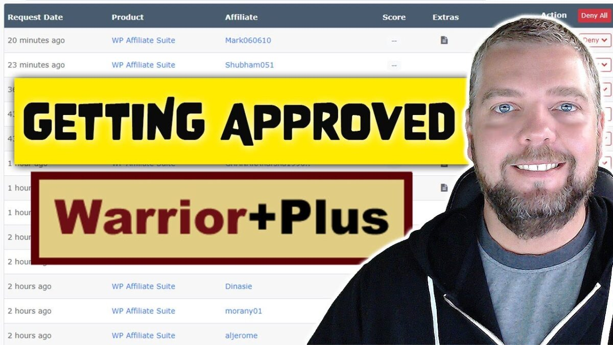How To Get Approved As An Affiliate On Warrior Plus