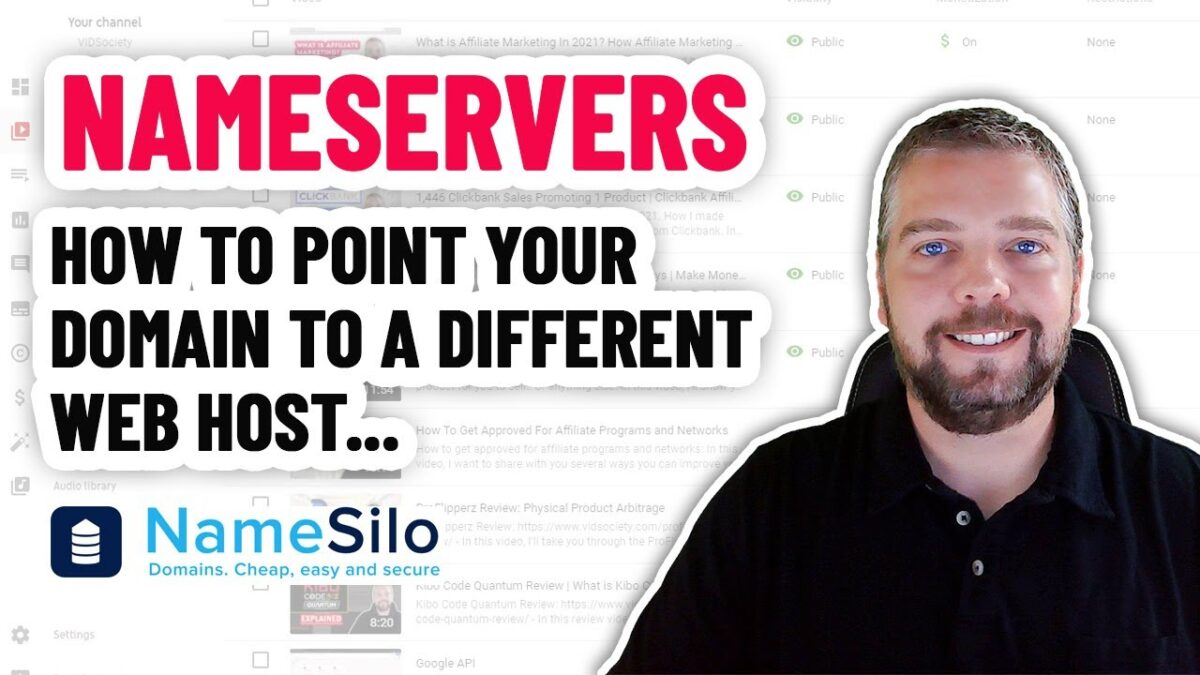How To Point Your Domain To A Different Web Host: Nameservers
