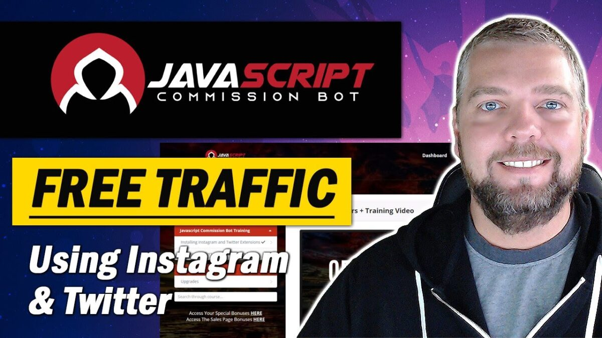 Javascript Commission Bot Review & Demo With Bonuses