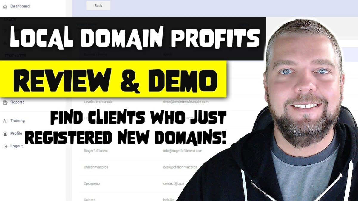 Local Domain Profits: Find Leads & Build Sites With Ease