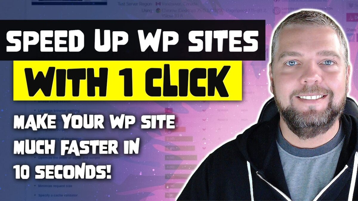 Make Your WordPress Website Faster With 1 Click [PROOF]