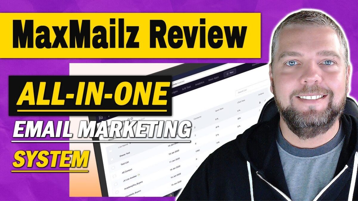 MaxMailz Review and Demo With HUGE MaxMailz Bonuses