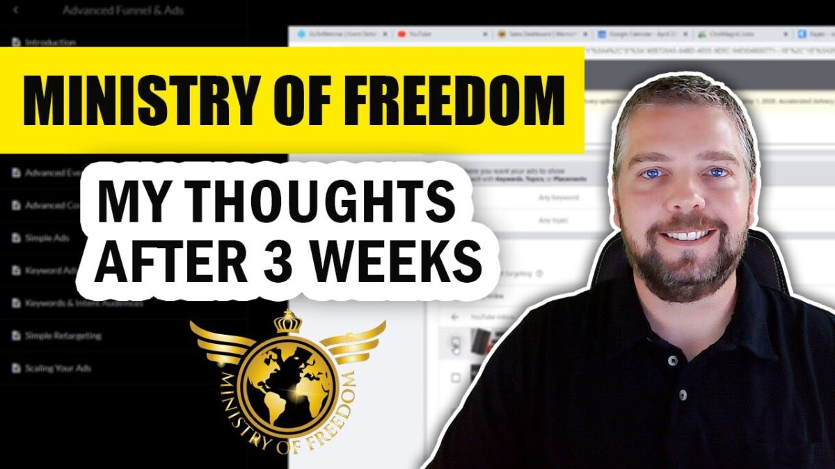 Ministry of Freedom Review: My Results Using Ministry of Freedom
