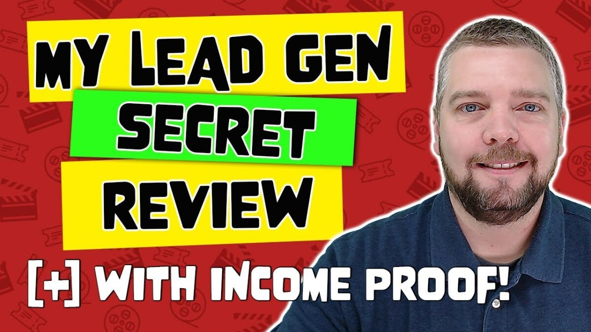 My Lead Gen Secret Review With Income PROOF [MLGS 2019]
