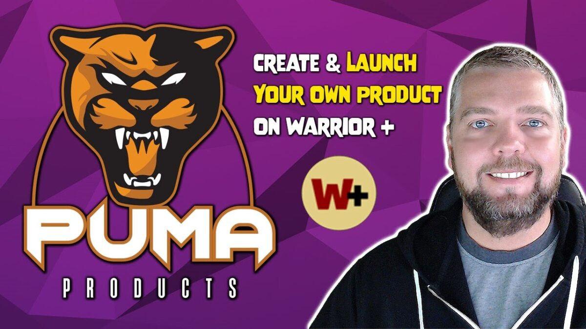 Puma Products Review: Launch Your Own Product on Warrior Plus