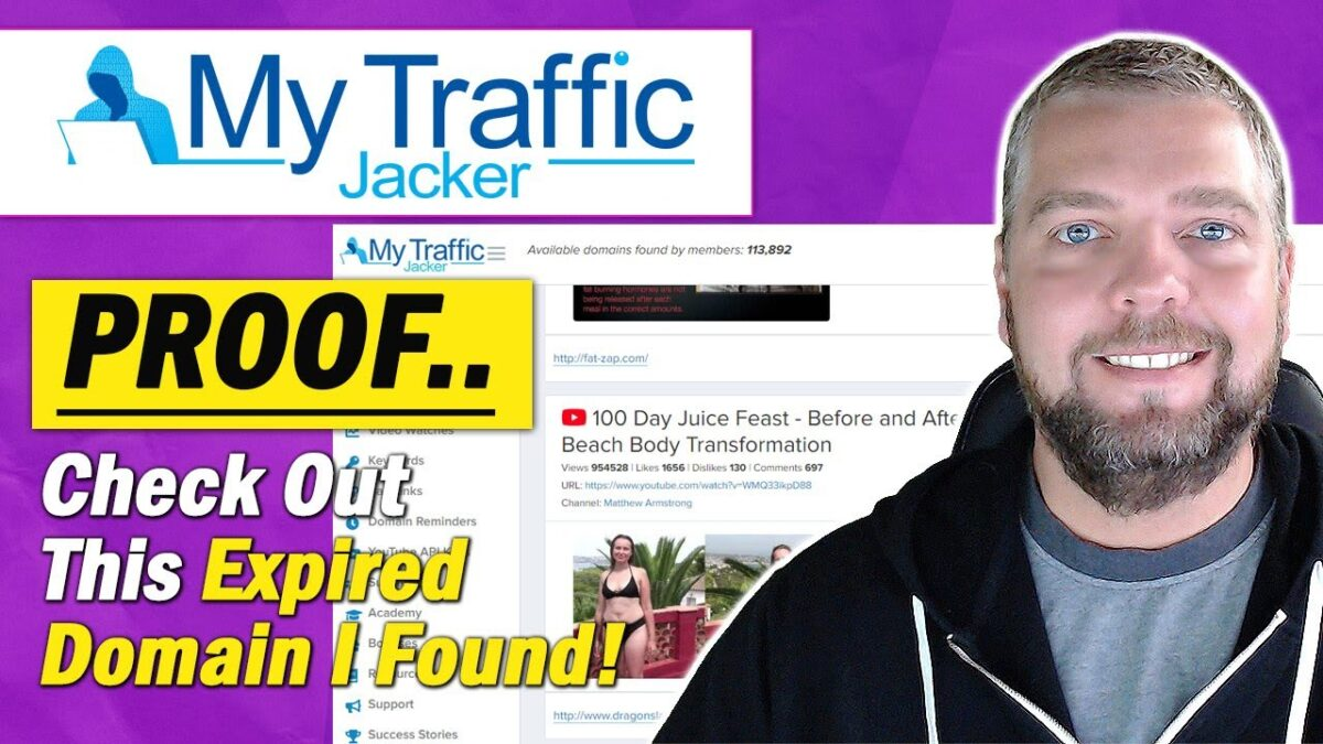 My Traffic Jacker 2.0 Review + Proof: How To Find Expired Domains Using My Traffic Jacker