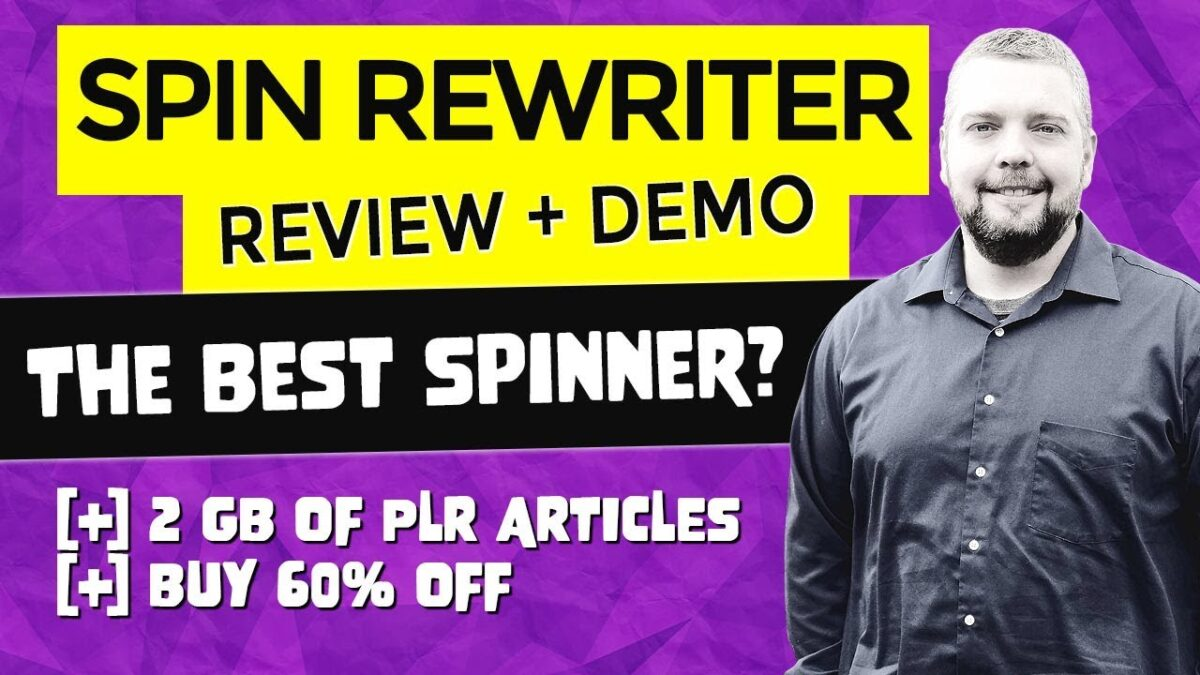 Spin Rewriter 10 Review & Spin Rewriter 10 Full Demo [NEW]
