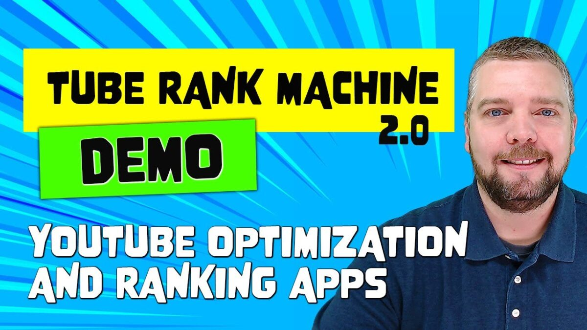 Tube Rank Machine Review With Complete Demo [NEW V2.0]