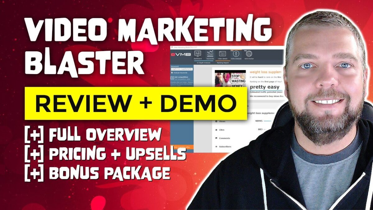 Video Marketing Blaster Review and Demo [NEW]