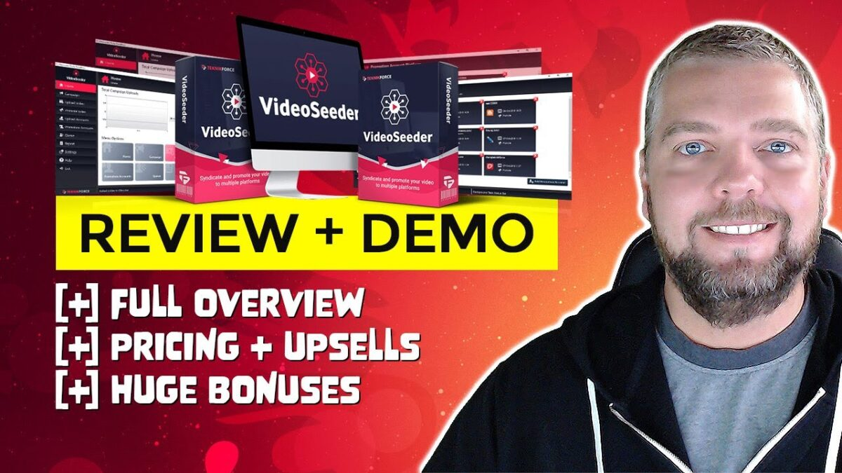 Video Seeder Review With Demo - Automate Video Syndication