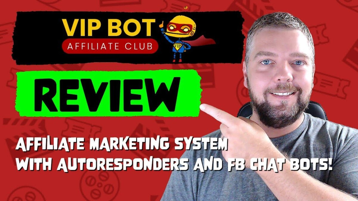 VIP Bot Affiliate Club Review and ONLY $2.95 SPECIAL