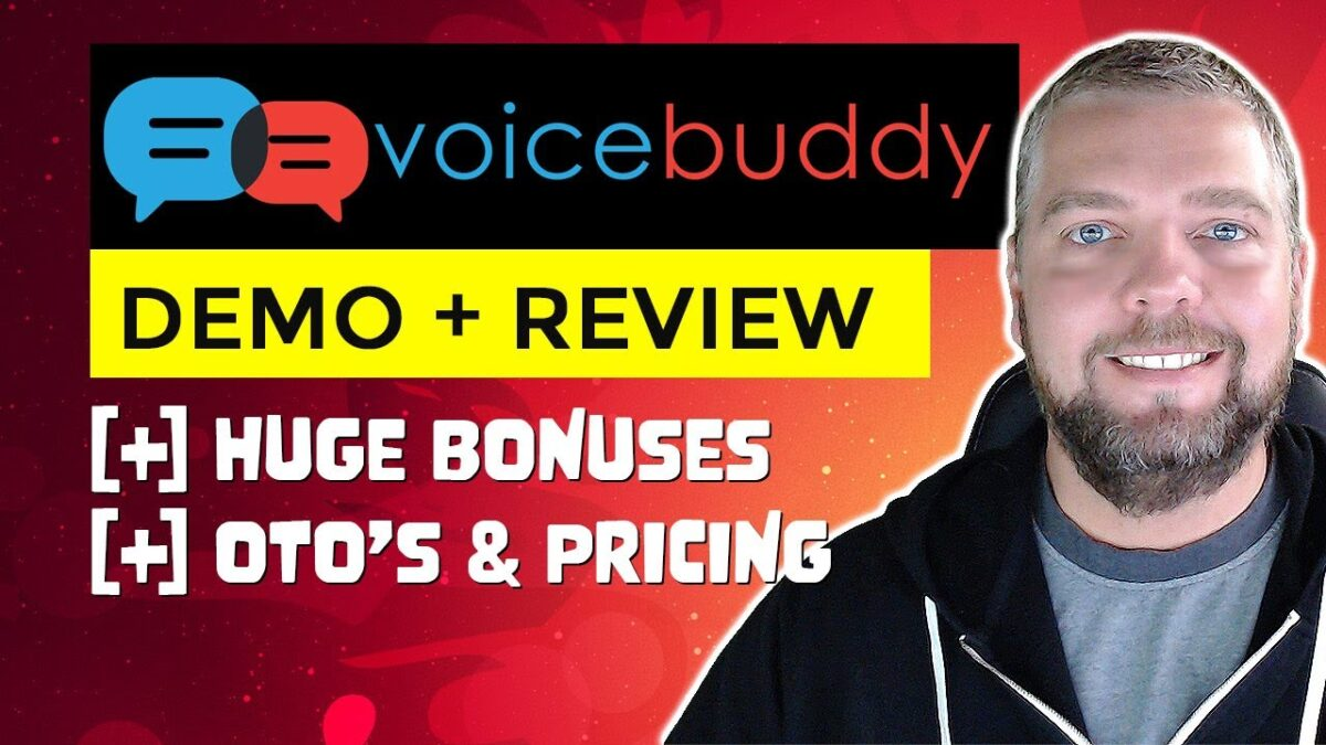 Voice Buddy Review & Demo: Text To Speech App