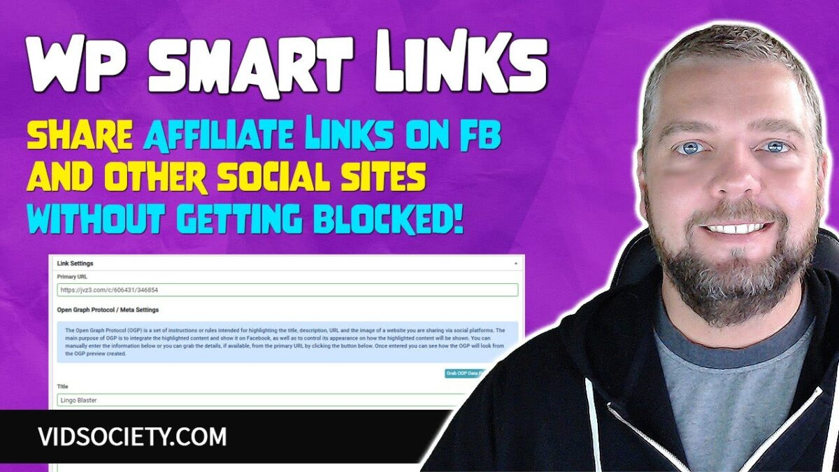 WP Smart Links Review: Share Affiliate Links on Facebook