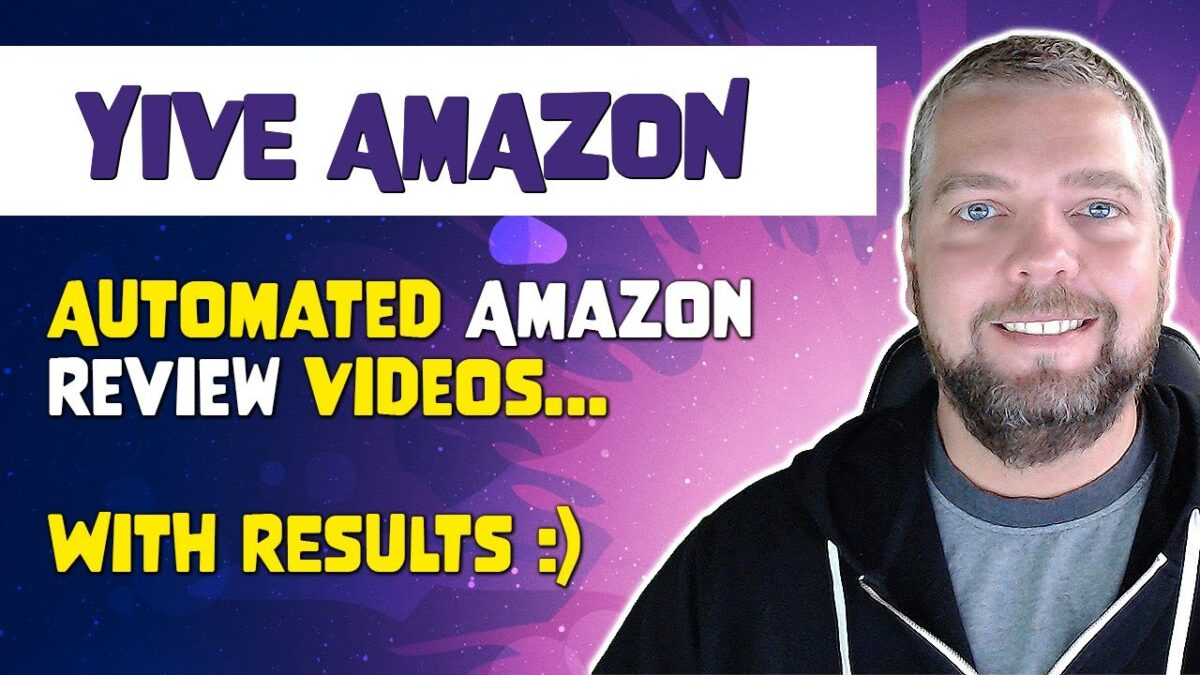 Yive Amazon Campaign:  Automated Amazon Product Review Videos