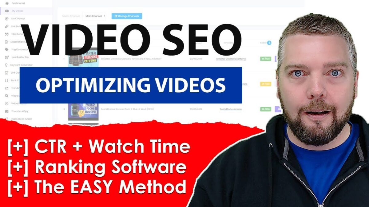 YouTube SEO Tool - How To Optimize YouTube Videos For Top Rankings